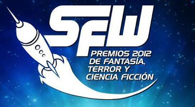 Finalistas de los Premios Scifyworld 2012 de Fantasía, Terror y Ciencia Ficción