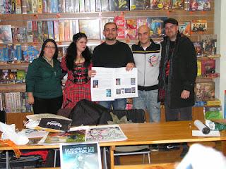 Presentación en Akira Comics: Invasión de Fantasía