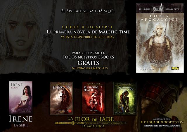 Promoción de Flor de Jade debido a la salida de Codex Apocalypse
