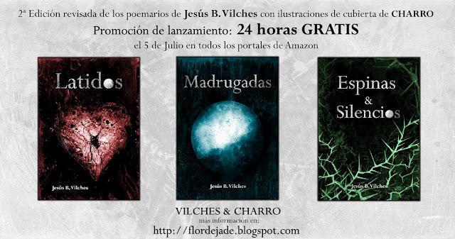 Cambio de registro de Vilches&Charro… se reeditan los poemarios