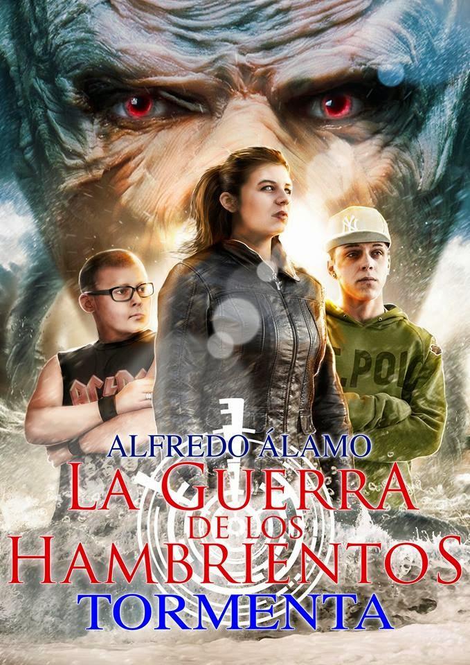 Arranca una nueva serie: «La guerra de los Hambrientos». «Tormenta» de Alfredo Álamo (Kelonia Editorial)