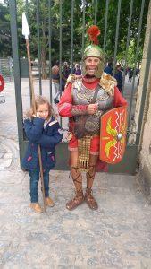 Carmen con Romano