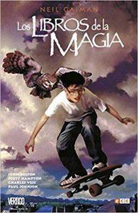 Portada Novela Gráfica Libros de la Magia