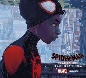 Portada Arte Spiderman Un Nuevo Universo