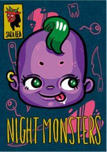 Portada Night monsters