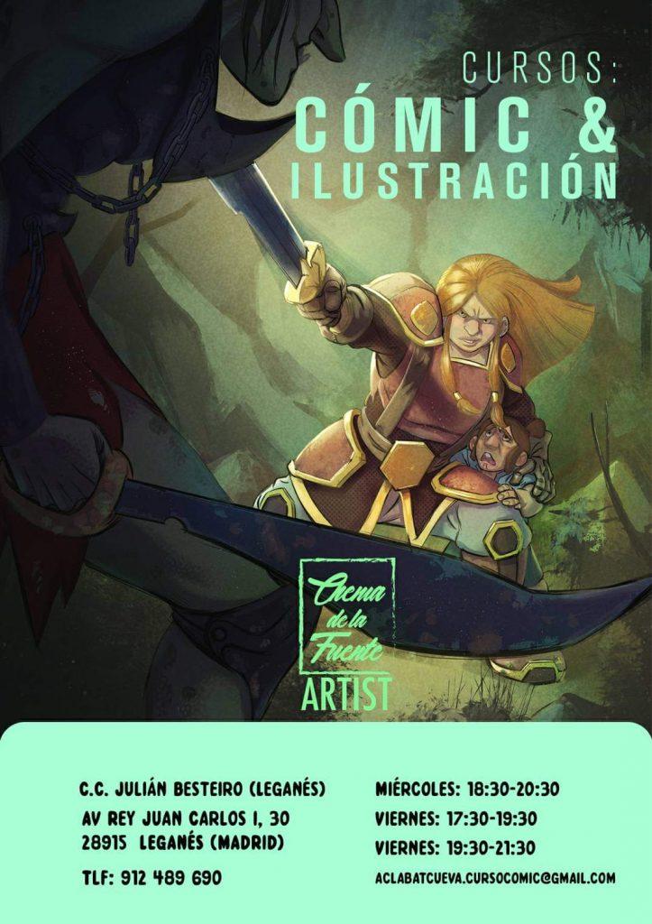 Curso Comic Manga e Ilustración 2019_2020