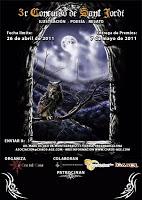 III Concurso de Sant Jordi 2011 de la Asociación de La Era del Caos