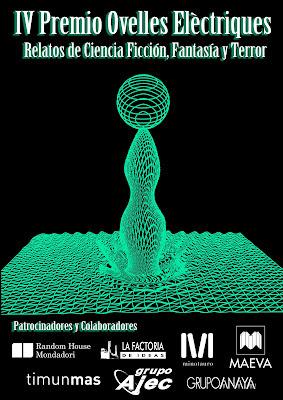 IV Premio «Ovelles Elètriques» de relatos de Ciencia Ficción, Fantasía y Terror