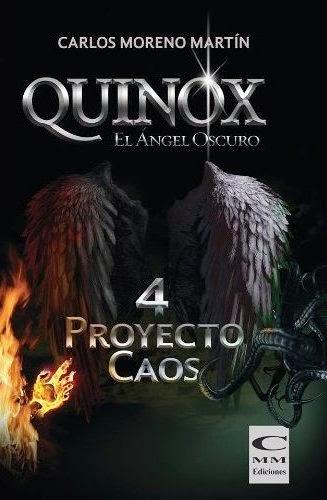 eReseña: Quinox 4: Proyecto Caos de Carlos Moreno Martín