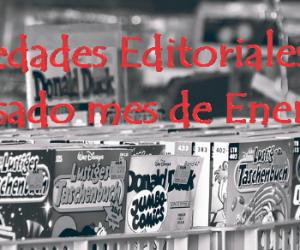 Novedades Editoriales del pasado mes de Enero