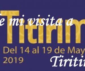 Crónica de mi visita a Tiritimundi 2019