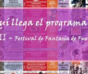 Aquí llega el programa del FFFVII – Festival de Fantasía de Fuenlabrada