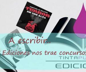 A escribir.. Tinta Púrpura Ediciones nos trae concursos de relatos
